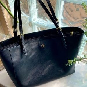 Tory Burch buckle tote
